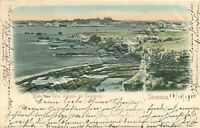 Cartolina di Siracusa, Latomia dei Cappuccini - 1900