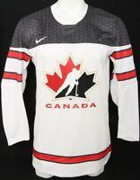 NEW Team Canada White IIHF Embroidered Nike Ice Hockey Jersey Men's Medium