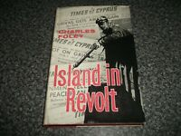 Book. Times of Cyprus. Island in Revolt. Charles Foley. 1st 1962 HB. Newspaper.