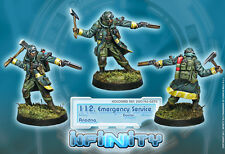 Infinity Corvus Belli 112 Emergency Service Doctor Ariadna blister metal new