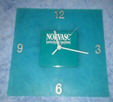 Vintage Norvasc wall clock pharmaceutical advertisement used working xlnt