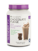 Youngevity Sirius Slender Fx Meal Replacement Shake Choc Fudge Free Shipping
