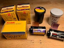 Job Lot Expired Kodak 35mm 135 Negative - Slide - B&W Film Collection Set