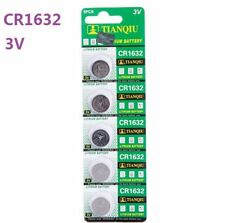 5Pcs CR1632 3V Coin Button Batteries Cell Battery For Watch Toys Remote Hot