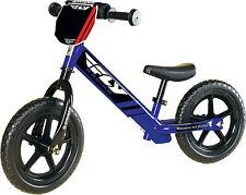 STRIDER Fly Racing Classic Kids Balance Blue Bike No-Pedal Learn To Ride Bike