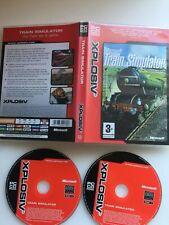 Microsoft Train Simulator PC CD-ROM - Daily Fast Free UK Postage