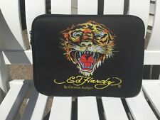 NWOT ED HARDY BY CHRISTIAN AUDIGIER BLACK CASE/COVER/SLEEVE