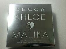BECCA x Khloé Kardashian & Malika Haqq Bronze, Blush & Glow Palette By Malika 8g