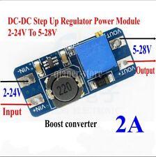 DC-DC Step Up Boost 2A Regulator Power Module 2-24V To 5-28V MT3608 Converter