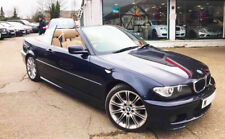 BMW 318i M Sport Convertible Automatic Blue Alloys only 87,000 MOT