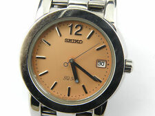 Mens Seiko 7N42-7B10 Salmon Sports Watch - 50m