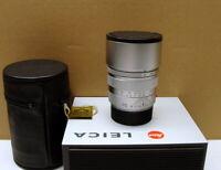 """Leica 11137 - Leica Summicron-M 1:2/90mm E55 """" Silver Lens/ mint """" - RAR !"""