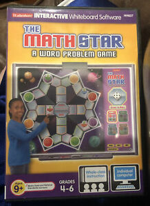 Lakeshore Interactive Whiteboard Software Math Star Grades 4-6 Word Problem Game