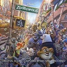 Zootropolis Soundtrack - Michael Giacchino (NEW CD)
