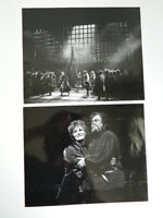 2 Foto Original Donald Southern Ópera Dalibor Anne Evans John Mitchinson 1976