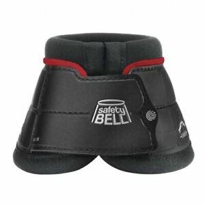 Veredus Colors Safety Bell Boot - Black/Bordeaux