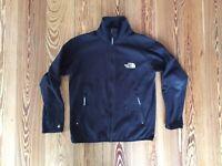 vintage the north face fleece polartec jacke jacket schwarz xs black