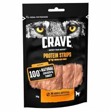 Crave Protein Strips Dog Treats | Dogs