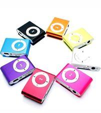 Mini lettore portatile MP3 ricaricabile fino a 32 gb su micro sd cuffie