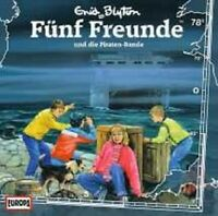 """FÜNF FREUNDE """"078/UND DIE PIRATEN BANDE"""" CD NEU"""