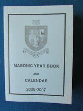 Masonic Book - Staffordshire Year Book - 2006-07