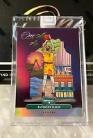 2019-20 Panini One and One Anthony Davis Downtown Encased SSP Lakers
