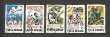 1982 Roumanie 5 timbres anciens oblitérés /T4331