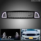 Front Upper LED Honeycomb Style Grille Fit for 2013-2014 Ford Mustang Non-Shelby  for sale