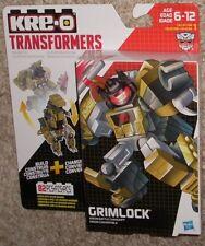 New Hasbro KRE-O GRIMLOCK BATTLE CHANGER Transformers Set MISB G1 AUTOBOT