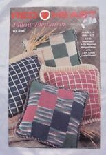 Pillow Pleasures to Knit - Red Heart Book 1425 - 6 Knit Patterns