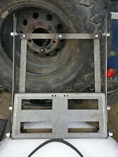LANDROVER DEFENDER WOLF WMIK FOLD UP JERRY CAN HOLDER IDEAL CAMPING *NO STRAPS*