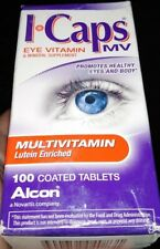 Systane I Caps Multivitamin Lutein Enriched 100 Coated Tablets 5/2020 & 6/2020
