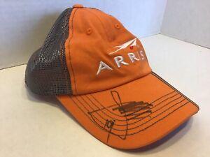 Daniel Suarez Autographed Arris Baseball Hat Cap Nascar Race Car Driver