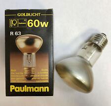 Paulmann LUZ DE ORO REFLECTOR R63 E27 230v 60w ORO geluestert art.nr.227.60