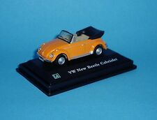 Cararama 1:72 - VW New Beetle Cabriolet - Orange