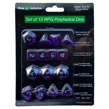 Polyhedral: Translucent Dark Purple/Light Blue (15)