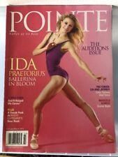 "Pointe Magazine ""Ida Praetorius"" February/March 2014"
