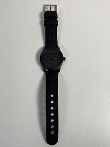 Citizen Eco-Drive WR100 Black Dial Men's Watch BM8475-00F Fabric Band