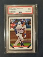 JEFF McNEIL RC 2019 Topps Archives 1993 Design #204 Mets Rookie Card PSA 9 Mint