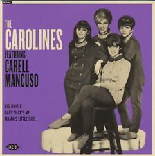 """THE CAROLINES Featuring Carell Mancuso vinyl 7"""" EP Jackie DeShannon Chip Taylor"""