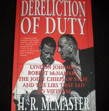 1997 1st HC Gen. H.R. McMaster Dereliction of Duty, National Security Adviser
