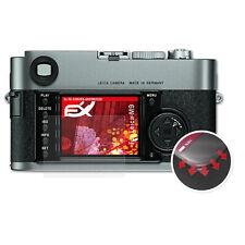 atFoliX 3x Beschermfolie voor Leica M9 Anti Shock Screen Protector mat&flexibel