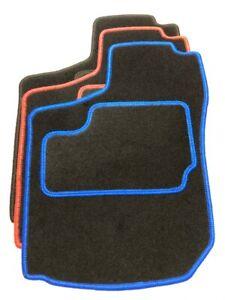 Fußmaten Schwarz Blau Rot Auto Tuning passend für Opel Corsa B Bj. 1993-2000
