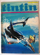 b)TINTIN du 10/08/71 - Dossier Balistique/ Caricature Steve Mac Queen