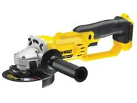 DeWALT DCG412N 18V XR 125MM Cordless Bare Compact Cut Off Angle Grinder NEW