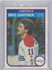 82-83 OPC O-Pee-Chee Mike Gartner #363 (3rd Year) Near Mint Washington Capitals