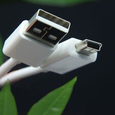 10FT White Mini USB 2.0 M/M Cable Mini B 5-Pin for MP3/MP4 PC Mac Camera