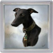 Whippet Coaster Design No 2 by Starprint - Auto combined postage