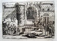 Conjuration d'Amboise Verschwörung Hugenotten 1694 Hinrichtung Execution
