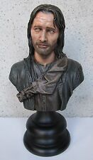 ARAGORN THE LORD OF THE RING SIDESHOW WETA  Buste REPAINT 1/4 LOTR